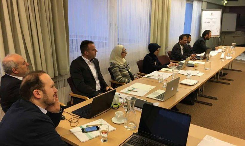 Erste interne Tagung des Obersten Rates der IGGÖ